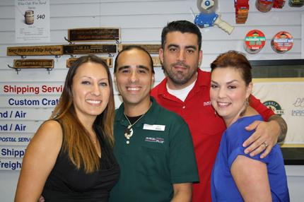 Antioch, CA Parcel Plus Staff