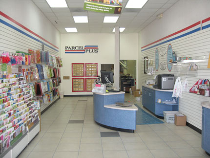 Welcome to Parcel Plus on San Felipe St In Houston, TX