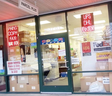Compare Shipping Rates UPS FedEx USPS at Parcel Plus in Arlington, VA